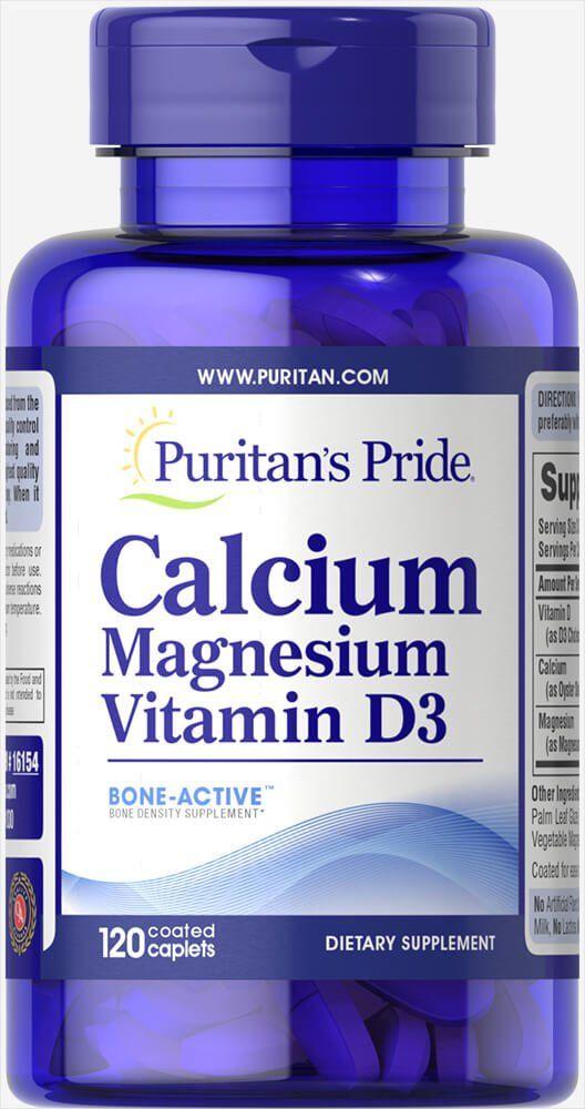 Кальций-магний с витамином D-3, Puritan's pride