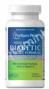 Комплекс для диабетиков, Puritan's pride, 60 капсул