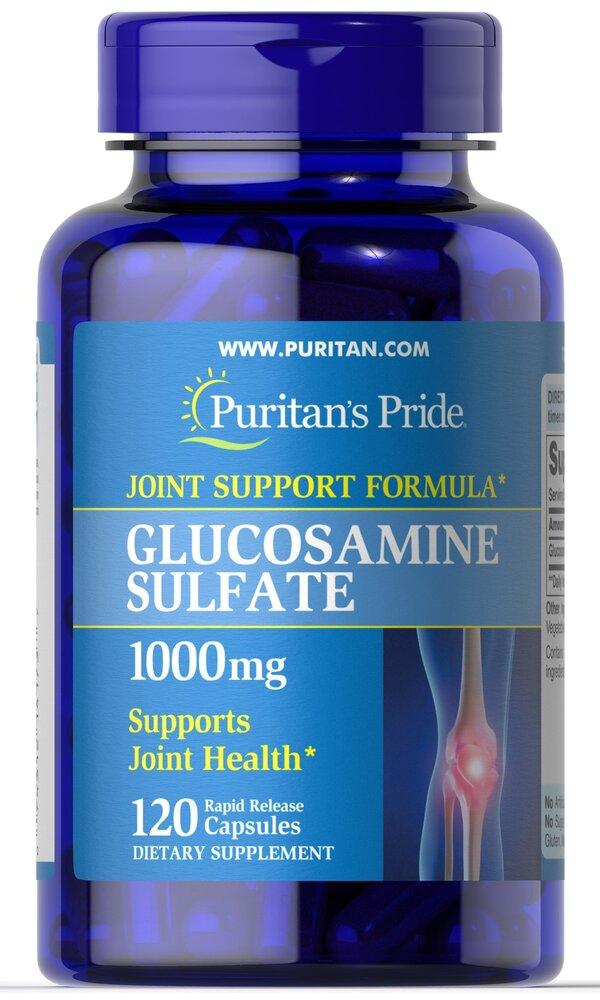 Сульфат глюкозамина, 1000 мг., Puritan's pride
