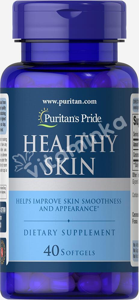 Комплекс для кожи с керамозидами, Puritan's pride, 40 капсул