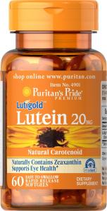 Лютеин 20 мг. с зеаксантином, Puritan's pride