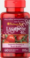 Ликопен, 40 мг., Puritan's pride, 60 капсул