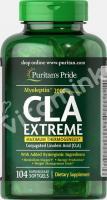 Конъюгированная линолевая кислота, CLA, Puritan's pride, 104 капсулы