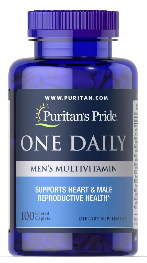 Мультивитамины для мужчин, Puritan's pride, 100 капсул