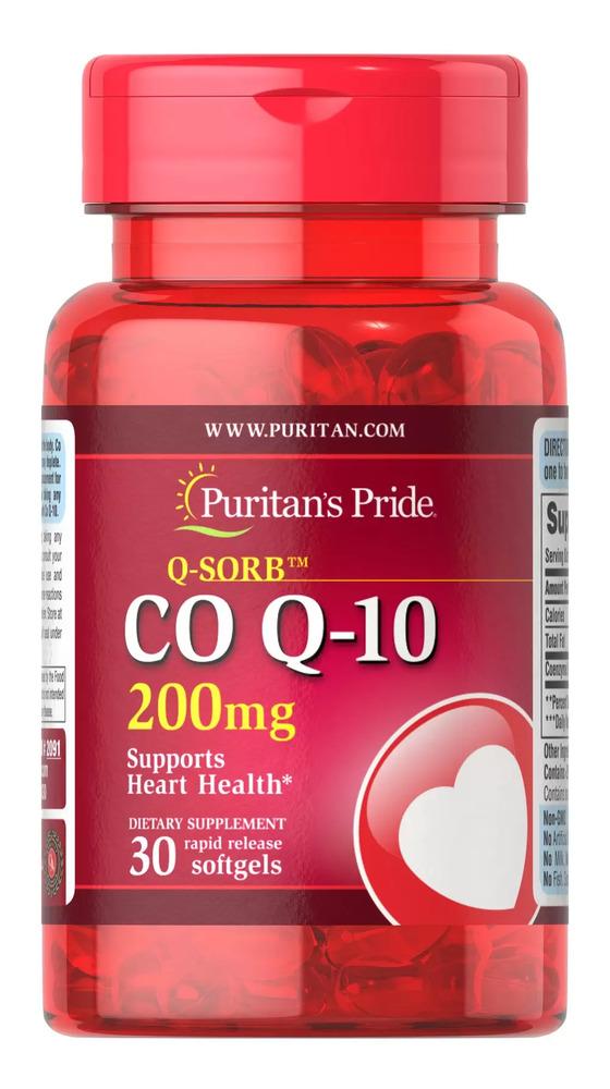 Коэнзим Q-10 Q-SORB, 200 мг., Puritan's pride