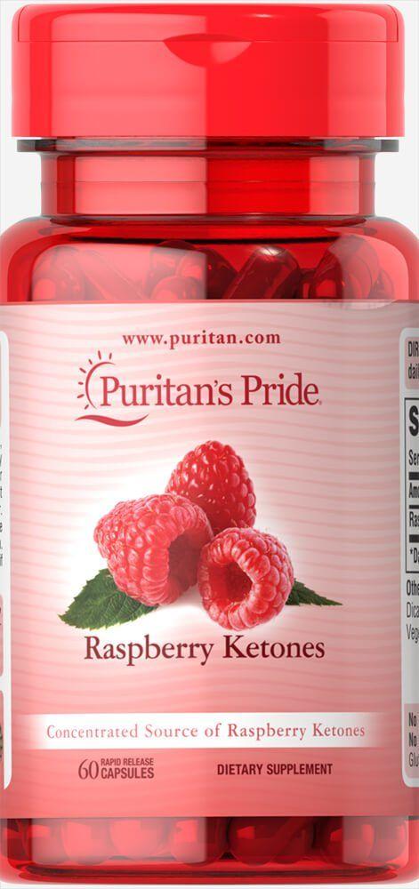 Кетоны малины, 100 мг., Puritan's pride