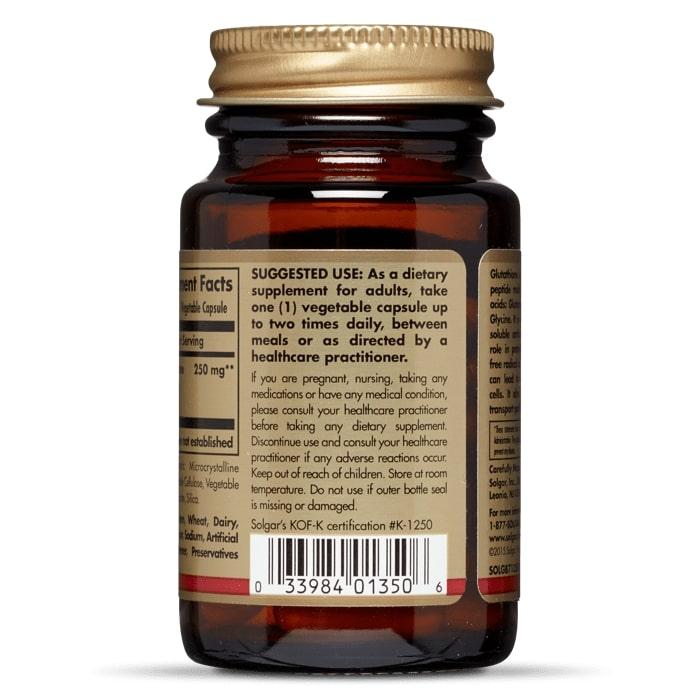 L- Глутатион, Solgar, 250 мг.