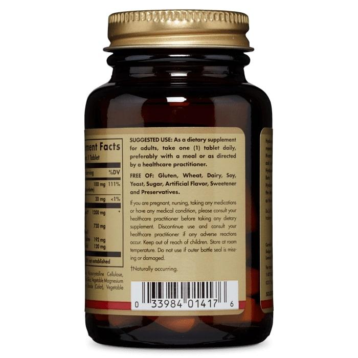 Гиалуроновая кислота, Solgar, 120 мг, 30 таблеток