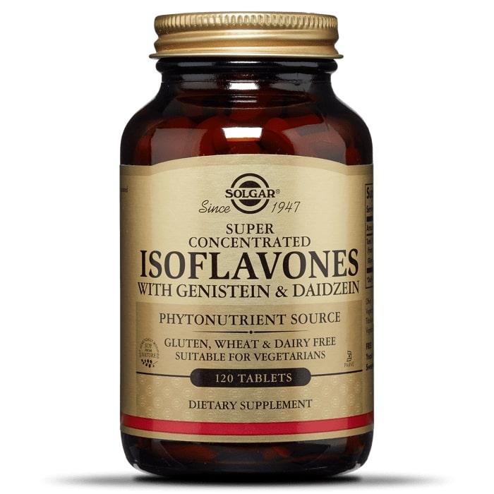 Соевые Изофлавоны, Solgar, 120 таблеток