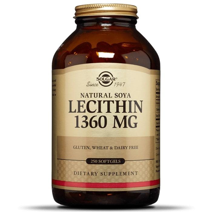 Лецитин, Solgar, 1360 мг.
