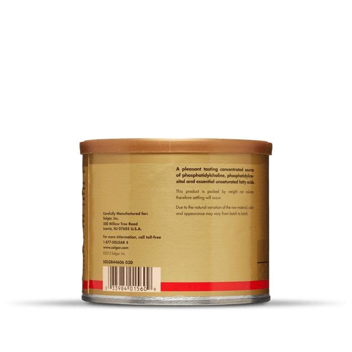 Соевый лецитин, Solgar, гранулы