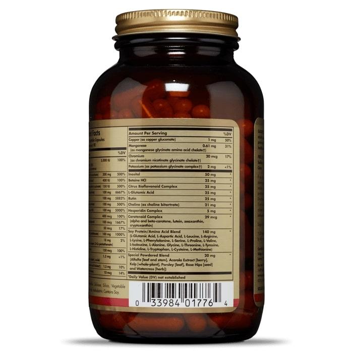 Мультивитамины, Multi II, Solgar, 180 капсул