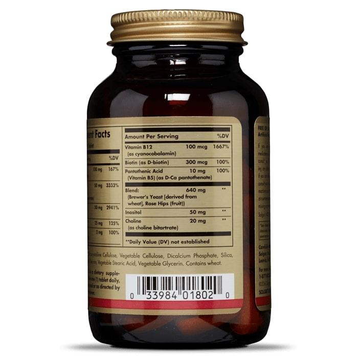 Защита от стресса (В-комплекс), Solgar, 90 таблеток