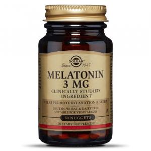 Melatonin, Solgar, 3 мг
