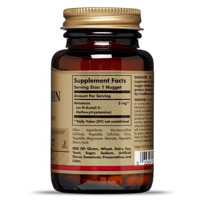Мелатонин, Solgar, 5 мг.