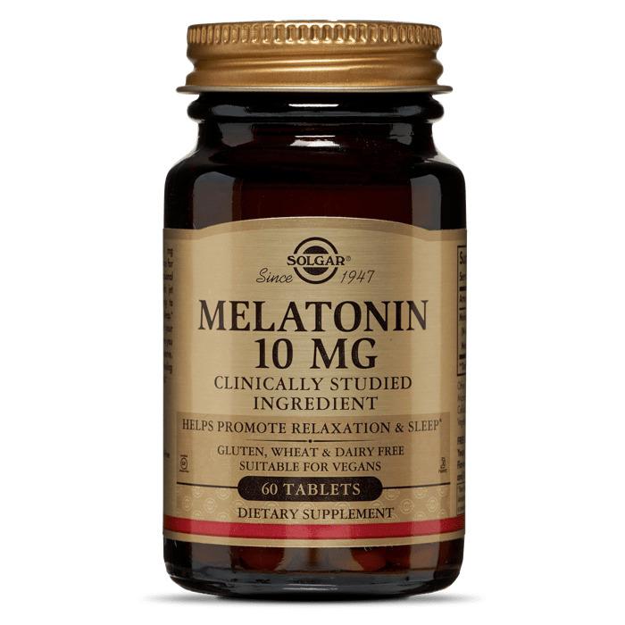 Мелатонин, Solgar, 10 мг, 60 таблеток