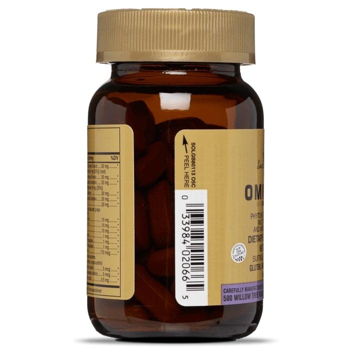Омниум, мультивитамины и минералы, Solgar