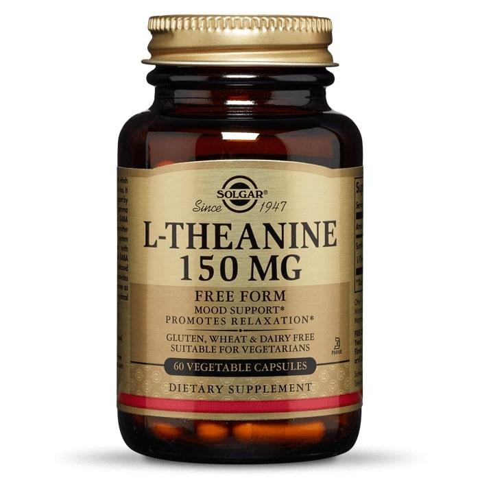L-Теанин, Solgar, 150 мг, 60 капсул