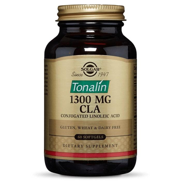 Конъюгированная линолевая кислота, Solgar, 1300 мг, 60 капсул