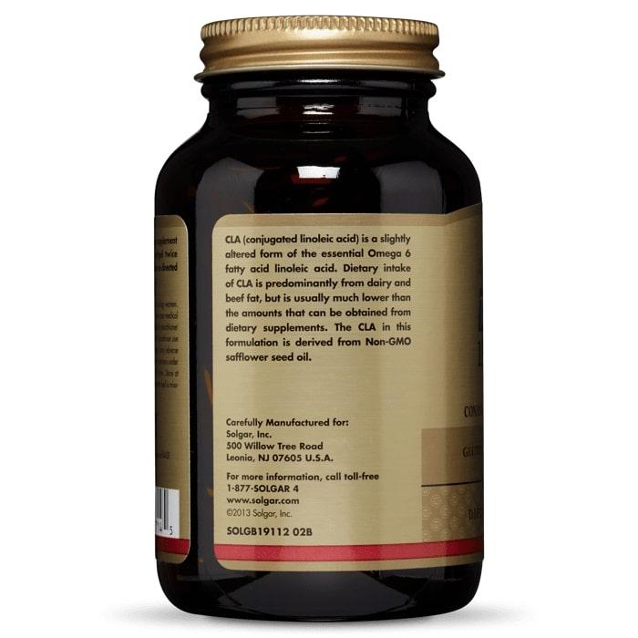 Конъюгированная линолевая кислота, тоналин, Solgar, 1300 мг, 60 капсул