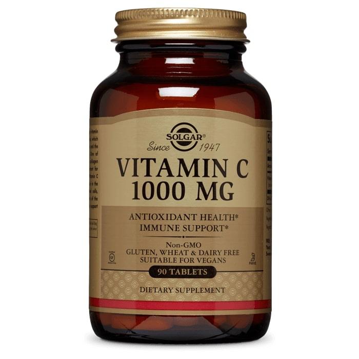 Витамин С, Solgar, 1000 мг, 90 таблеток