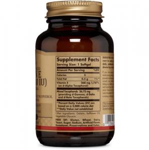 Витамин Е, Solgar, 400 МЕ