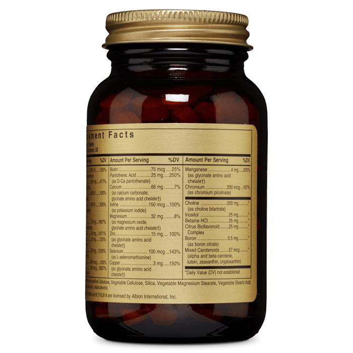 Мультивитамины VM-Prime 50 +, Solgar, 100 таблеток