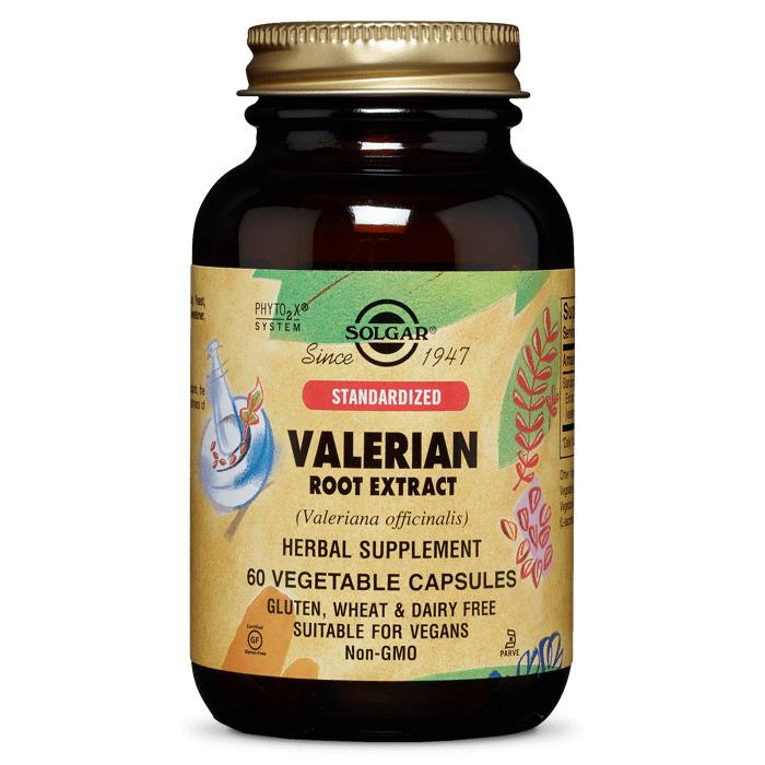 Валериана экстракт корня, 60 вегетарианских капсул