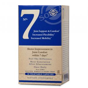 Поддержка суставов (No. 7, Joint Support  Comfort), Solgar