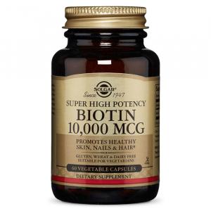 Биотин, Solgar, 10000 мкг.