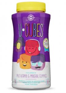 Витамины для детей U-Cubes, (Children's Multi-Vitamin), Solgar
