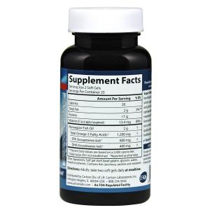 Омега 3, Carlson Labs, 1000 мг, 50 капсул