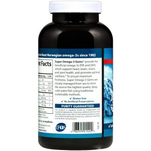Омега 3, Carlson Labs, 1200 мг, 250 капсул