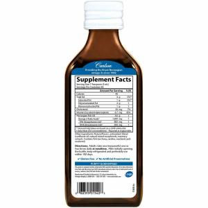 Рыбий жир , вкус лимона, 1600 мг, Carlson Labs, 200 мл.