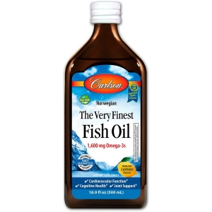 Рыбий жир для детей (вкус лимона), Carlson Labs, 200 мл