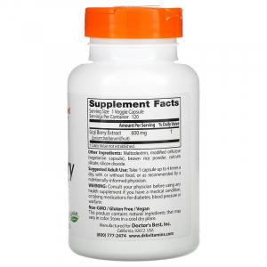 Экстракт ягод Годжи, Doctor's Best, 600 мг, 120 капсул