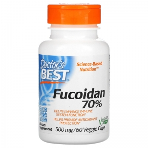 Фукоидан 70%, Doctor's Best, 60 капсул