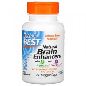 Витамины для мозга, Doctor's Best, 60 капсул