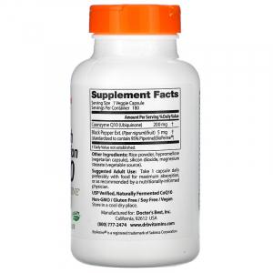 Коэнзим  Q10, Doctor's Best, 200 мг.