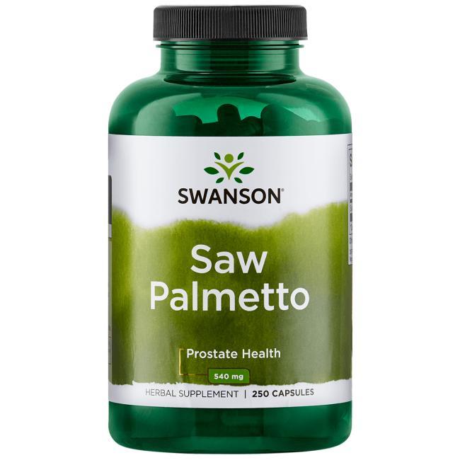Saw Palmetto, Swanson , 540 мг, 250 капсул