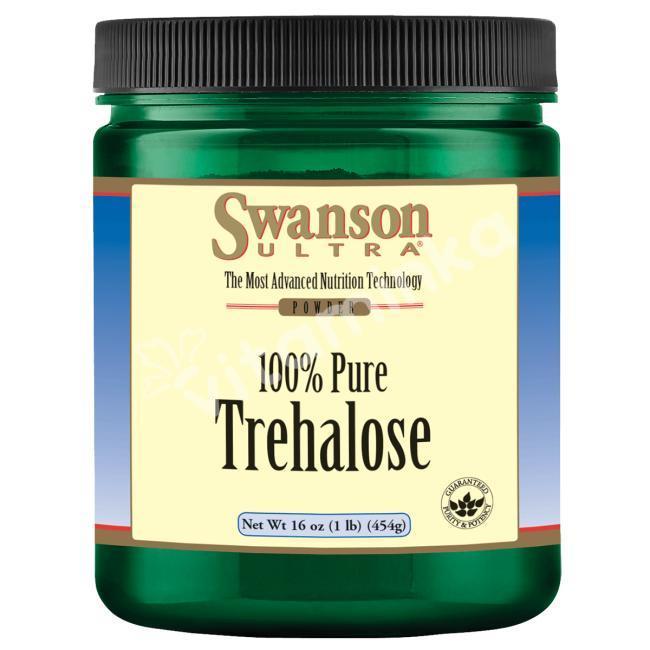 Чистая трегалоза, Swanson, порошок,  454 г