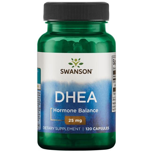 ДГЭА (дегидроэпиандростерон), DHEA, Swanson, 25 мг.