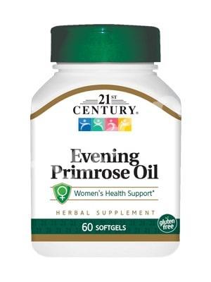 Масло вечерней примулы (Evening Primrose Oil), 21st Century Health, 60 кап.