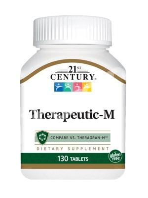 Терапевтические-М поливитамины, 21st Century, 130 таб.