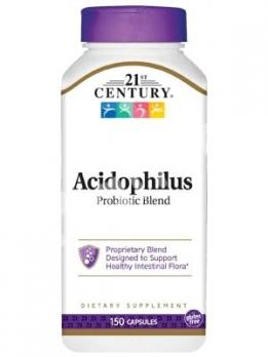 Пробиотики, 21st Century Health Care, 150 капсул