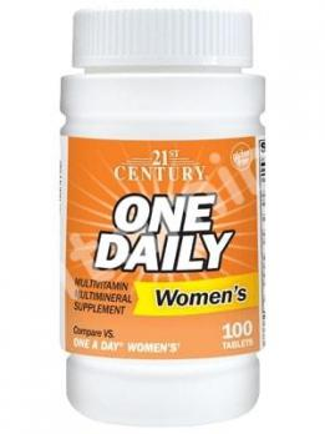 Витамины для женщин, 21st Century, 100 таблеток