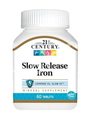 Железо, 21st Century Health Care, 60 таблеток