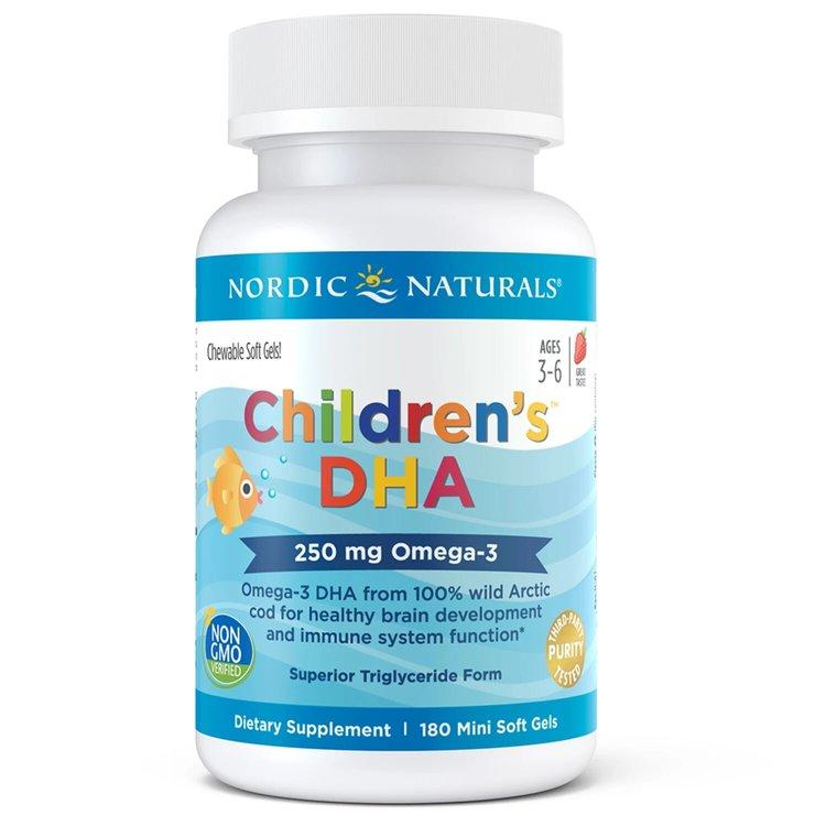Рыбий жир для детей, Nordic Naturals, 250 мг., 180 желеек