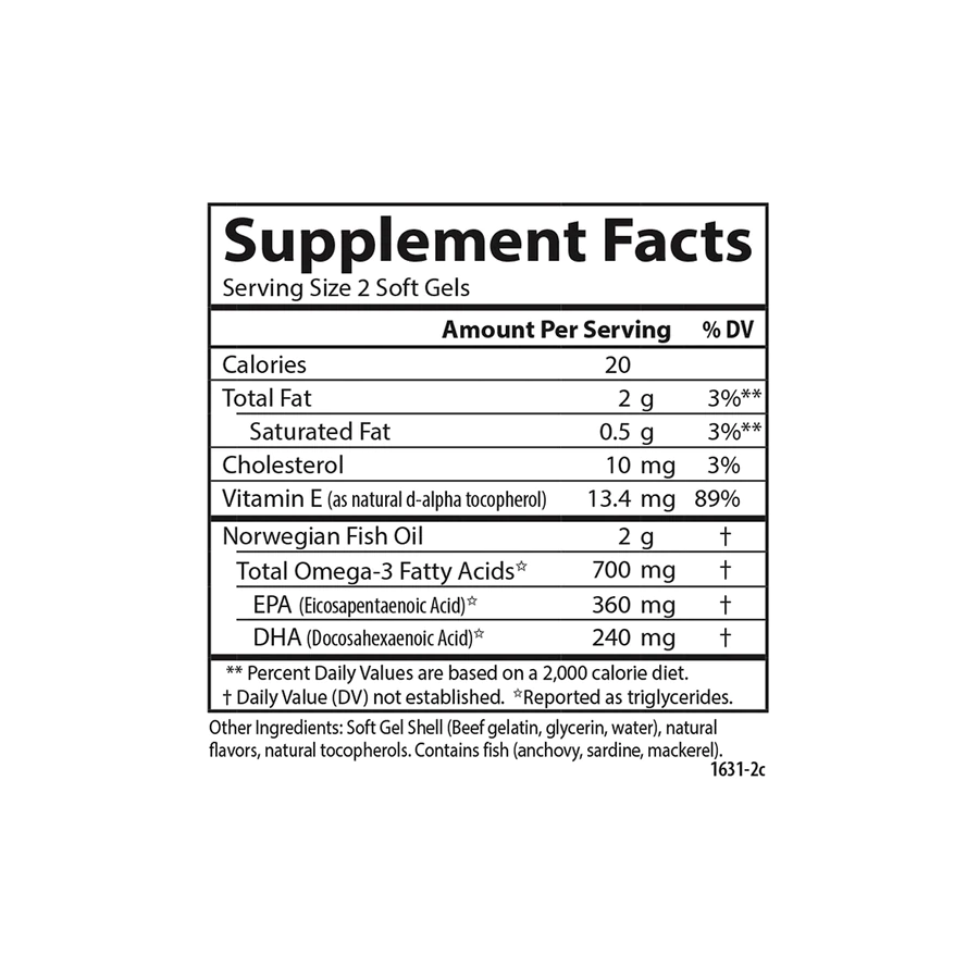 Рыбий жир со вкусом лимона,Carlson Labs, 700 мг, 120 + 30 капсул