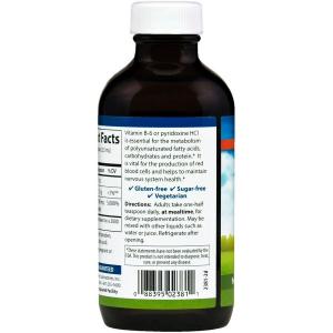 Витамин В6 (пиридоксин) жидкий, Carlson Labs, 120 мл